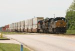 CSX SD70ACe 4832 and AC44CW 49