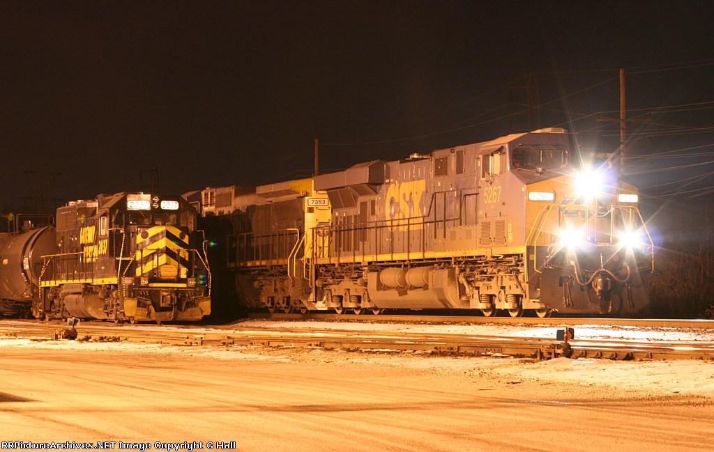 CSXT 5267 GWWR 2037