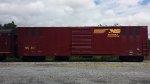 NS 40 HEP Generator car sits in Salisbury Twp