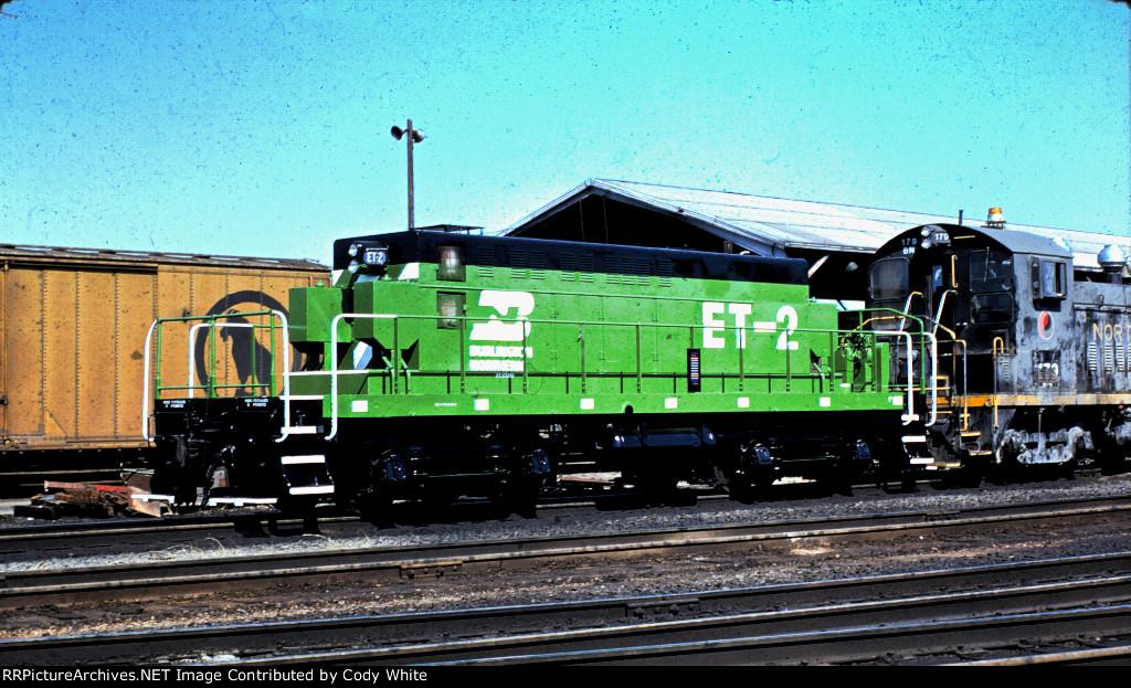 Burlington Northern Yard Slug ET-2