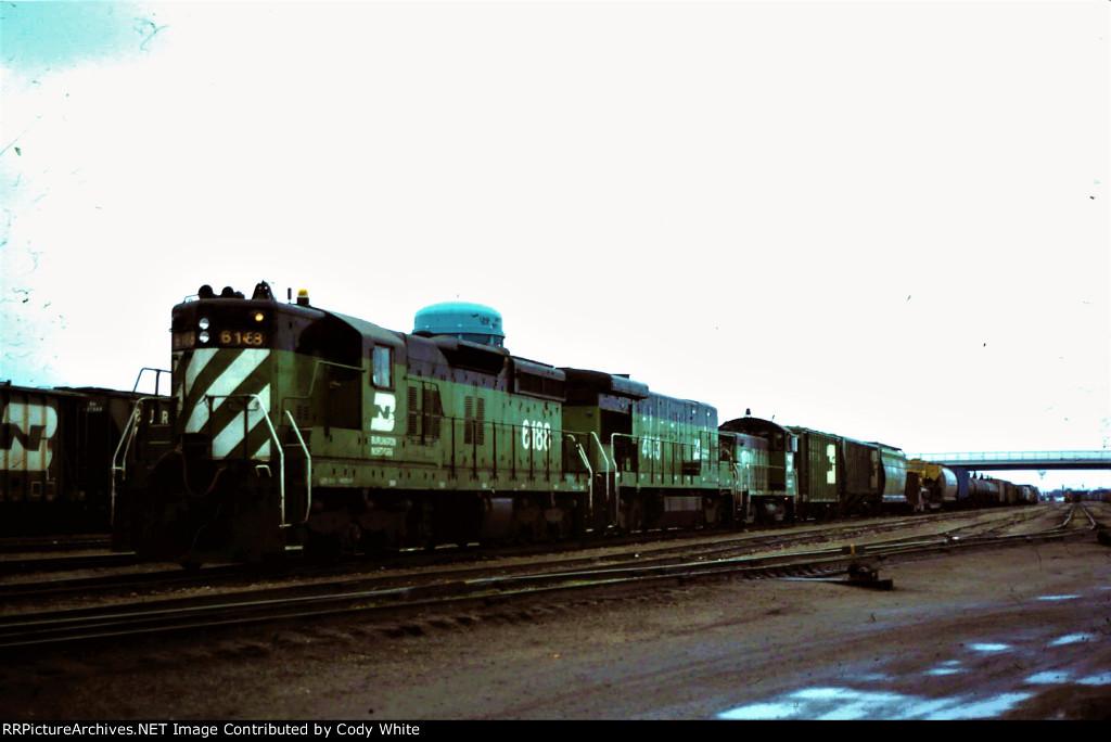 Burlington Northern SD9 6188
