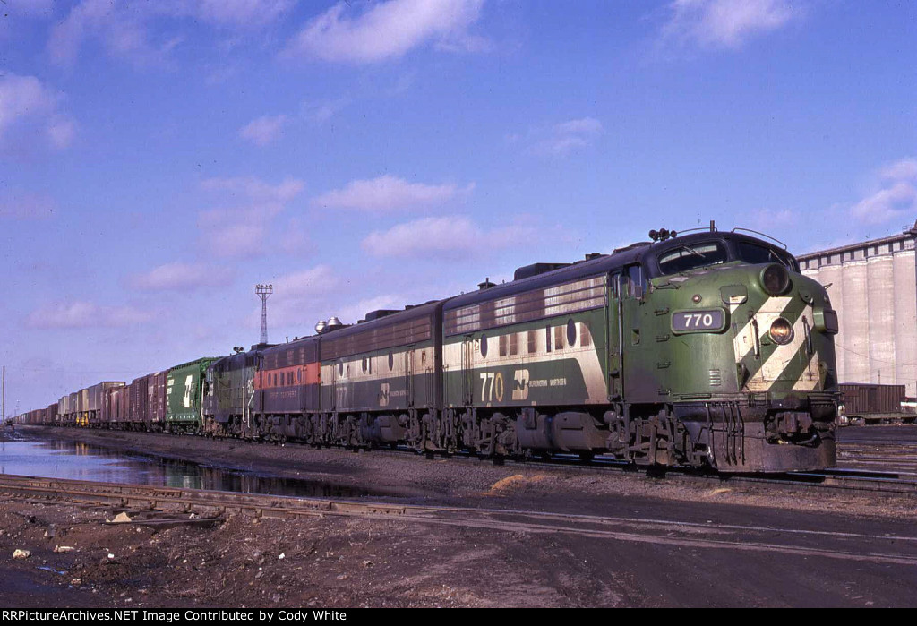 Burlington Northern F9A 770