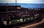 Burlington Northern SD40-2s