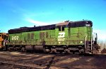 Burlington Northern SD9 6107