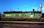 Burlington Northern SD9 6143