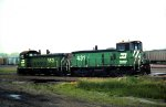 Burlington Northern Switchers