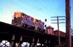 Burlington Northern SD7s 6010 and 6007