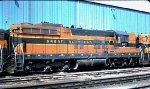 Burlington Northern SD9 6122