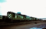 Burlington Northern SD9 6188