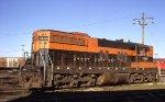 Burlington Northern SD7 6008