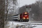 CP 6234 leads ethanol loads train 686 east out of town