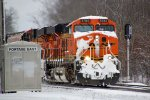 BNSF 5784 has evidently been doing some drift-busting as it leads this 2nd 686