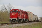 CP 3025 grinds uphill toward Provimi Road with a good-sized G64