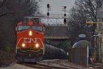 CN Approaching