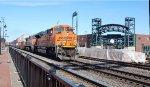 BNSF 8458 & 1031