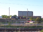 NS 9152 with North Kansas City Hospital in the background