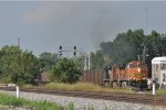 BNSF 4613 On NS 753 Eastbound