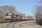 NS 9217 On A Emt Coal Drag Southbound