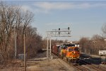 BNSF 6581 On NS 376 Southbound