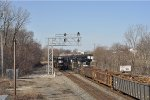 NS 2574 On Coal Drag Eastbound