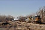 CSXT 83 & CSXT 1 On CSX U 610 Southbound