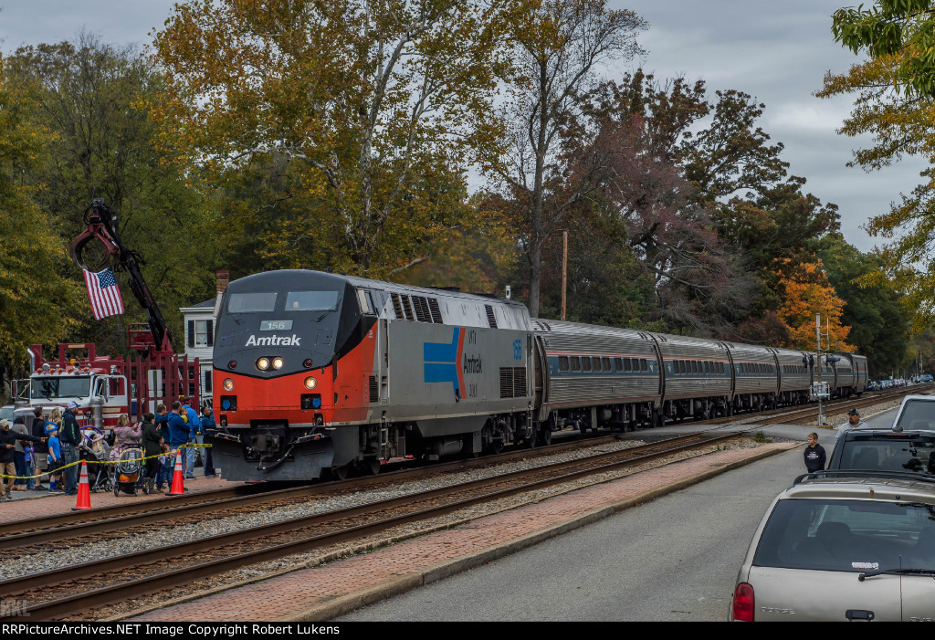 Amtrak 156 and AMERICA