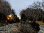 Empty Coal train at Noel