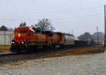 BNSF 2183 and 538