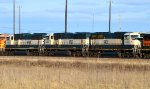 BNSF 9435, 9523, and 9469