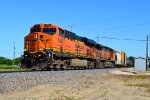 BNSF 7404 and 5011