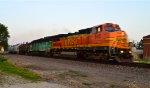 BNSF 545 and 3019