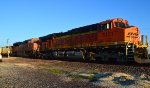BNSF 6131 and 9323