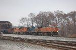 BNSF 7319, CSX 78, BNSF 9061 & 5101