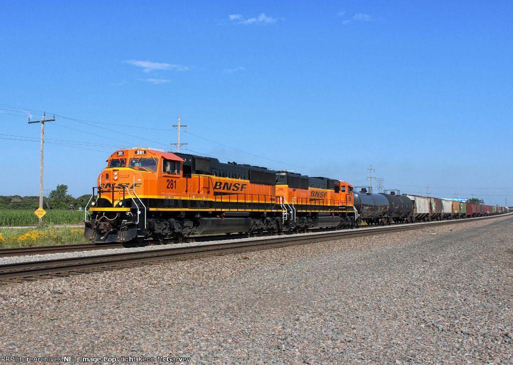BNSF 281 East