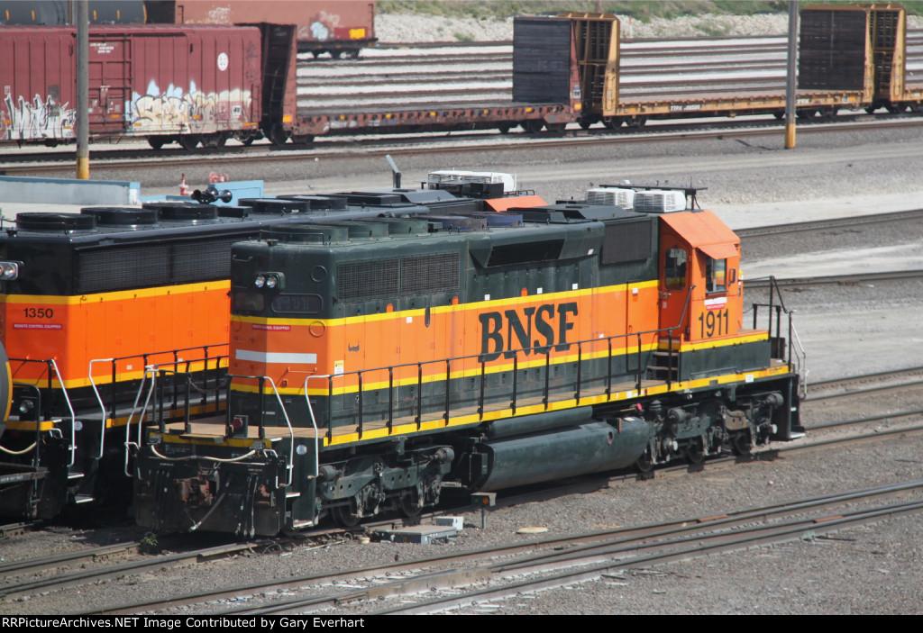 BNSF 1911 & BNSF 1350