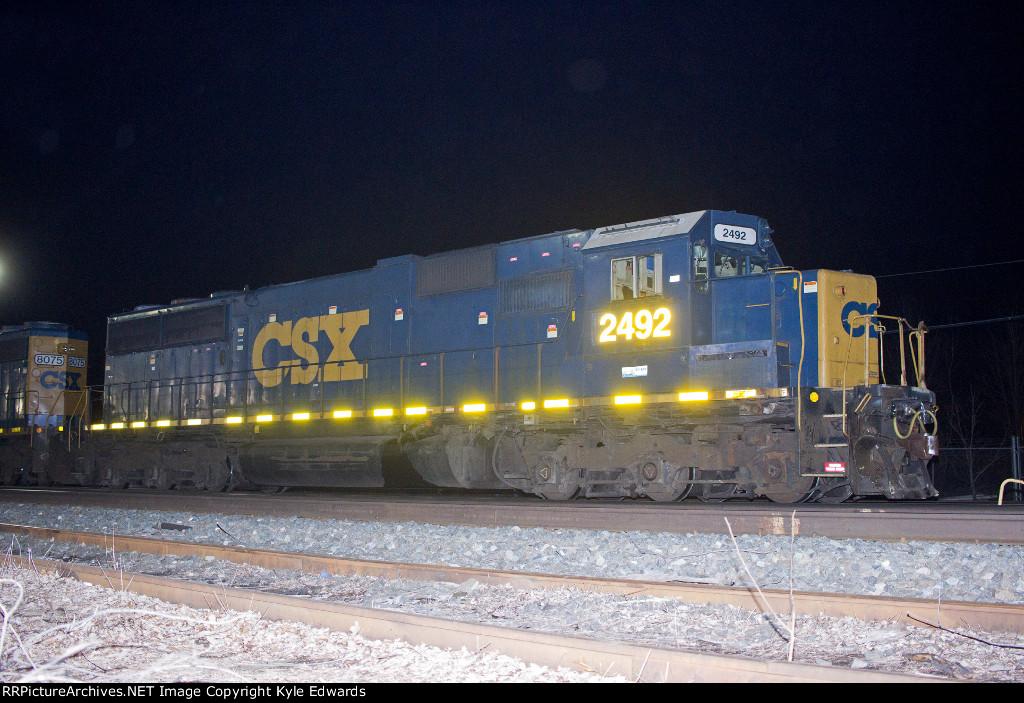 CSX SD50-2 #2492