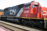 Former BN SD40-2 returns to BN rails