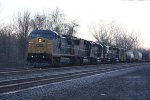 CSX Q351 in the morning