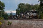 NS Herzog Ballast Train on the PITL
