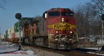 Eastbound Warbonnet on the NS