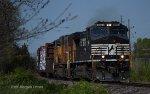 NS 111 Departs Wentzville