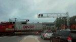 BNSF 711 & 4578