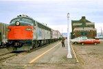 "Amtrak ""Arrowhead"" at Superior"