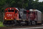 CN/CP combo on 288- Bridge Shot 1
