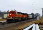BNSF 2539 and 2576