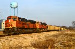 BNSF 9293 and 9014