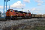 BNSF 9258 and 6295