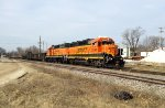 BNSF 2034 and 2889