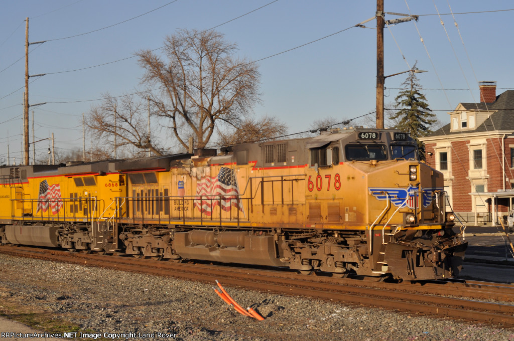 UP 6078 East