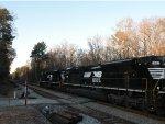 A pair of SD70ACe's pull NS Train #174 towards Atlanta